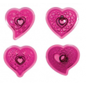 JEM Fantasy heart Cutters, set of 4