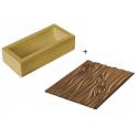 Silikomart - Magic Wood, Christmas log kit