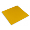 Decora - Aluminium sheets golden, 10 x 10 cm, 150 pieces
