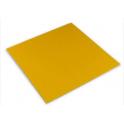 Decora - feuilles aluminium doré, 10 x10 cm, 150 pièces