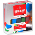 Renshaw - Fondant primary colours multipack, 5x 100g