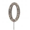 "Nummer 0 ""diamante"", 45 mm Hoch"