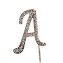 """Buchstaben A """"diamante"""", 45 mm Hoch"""