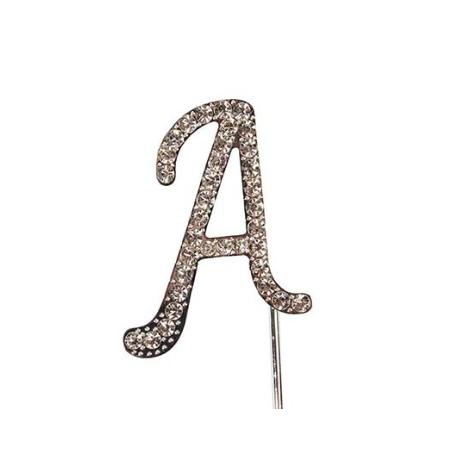"Letter A ""diamante"", 45 mm high"