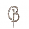 "Letter B ""diamante"", 45 mm high"