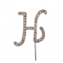 "Letter H ""diamante"", 45 mm high"