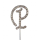 "Letter P ""diamante"", 45 mm high"