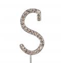 """Buchstaben S """"diamante"""", 45 mm Hoch"""