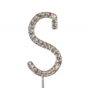 "Letter S ""diamante"", 45 mm high"