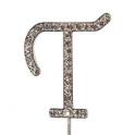 "Letter T ""diamante"", 45 mm high"