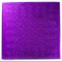 Planche violette carrée, 30 x 30 cm, épaisseur 1.2 cm