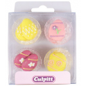 Culpitt Icing Decorations Easter Eggs, 12 pieces