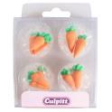 Culpitt Décoration en sucre carottes, 12 pièces