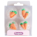 Culpitt Icing Decorations Carrots, 12 pieces