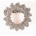 Culpitt - Decoration brooch rhinestones, 35 mm