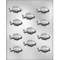 CK - Plastic mold for chocolate fish, 11 cavities