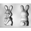 CK - Moule en plastique rigide pour chocolat lapin avec carotte, 2 cavités