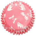 Butterfly Blush Baking Cases, 54 per pack