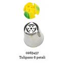 Douille en acier inoxydable tulipe 6 pétales, 244