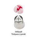Douille en acier inoxydable tulipe 3 pétales, 245