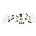 Decora - Decoration kit soccer, set of 9