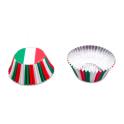 Caissettes à cupcakes Italie, 50 pièces