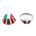 Cupcake liners Italy, 50 pieces