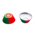 Caissettes à cupcakes Portugal, 50 pièces