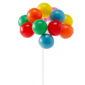 Balloon cluster decoration
