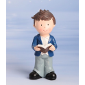 Communion boy topper