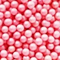 Decora Edible Pearls Pink, 100 g