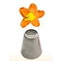 Decorating tip triple serrated petal, n 6