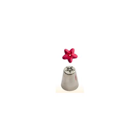 Douille en acier inoxydable fleur étoilée, 30