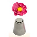 Decorating tip triple smooth petal, n 7