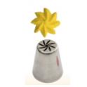 Douille en acier inoxydable fleur torsade, 29
