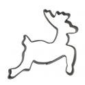 Deer/reindeer cookie cutter, 7 cm