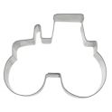 Cookie Cutter tractor, tin plate, 8 cm