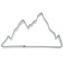 Emporte-pièce - montagne, fer blanc, 9.5 cm