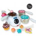 Creuset pour fondre chocolat/enrobage/candy melt