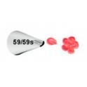 Decorating tip 059s/059 (mini petals)