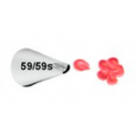 Douille en Acier Inoxydable 059s/059  (mini petale)