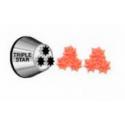 Decorating tip 2010 / triple star