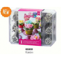 Decora - Decorating tips, set 1, 12 pieces