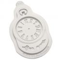 Katy Sue - Clock Silicone mold, approx. 5 cm