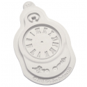 Katy Sue - Clock Silicone mold, approx. 5 cm