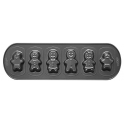 Wilton - Cookie Pan Gingerbread family, 6 cavities