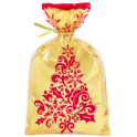 Wilton -  Golden Christmas treat bags, 8 pieces