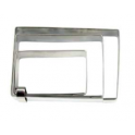 Staedter - Rectangular cookie cutters set, 4.5, 6, 7.5 cm