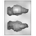 CK - Moule en plastique rigide pour chocolat Père-Noël & sac 3D