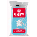 Renshaw - pastillage fleurs et modelage bleu clair,  250 g